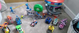 Large Paw Patrol toy bundle