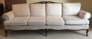 Victorian Sofa with solid wood frame
