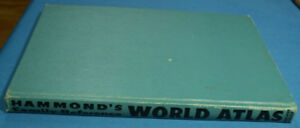 HAMMOND'S WORLD ATLAS FROM 1959