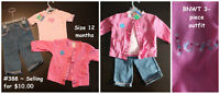 BNWT & NEARLY NEW Girl's 12-18 month clothes multiple listings