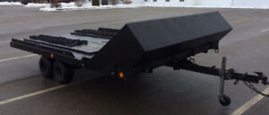 8' x 12' Tandem Axle Snowmobile Trailer $1500 OBO