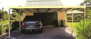 Factory Moving Brand new Flat roof carport, 6M long x 6M wide Ingleburn Campbelltown Area Preview