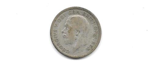 GREAT BRITAIN -  GEORGE V 1935 SILVER SHILLING  COIN (CNS 1241)