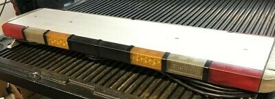 Whelen Libertypatriotlfl Strobe Led Halogen Light Bar Loaded Long Power Cable