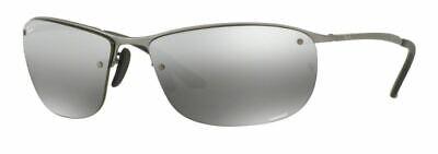 Ray-Ban Herren Sonnenbrille RB3542 029/5J 63mm Chromance polarisiert S H4