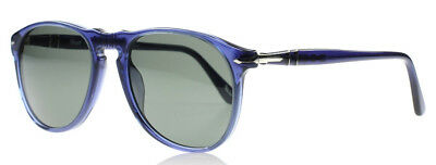 Persol 9649-S Sunglasses Crystal Blue Polarized 101558 Authentic New Size (Persol Sunglasses Sizes)