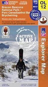 Brecon Beacons National Park Active Explorer Map - OL 12 - Western Area