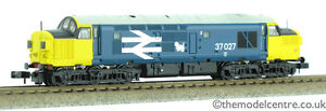 TMC 371-466Z N Gauge Farish Class 37 Loch Eil Nameplates in Box 37027 BR Blue