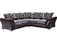 NEW SHANNON FABRIC SOFA IN CORNER AND 3+2 SEATER-IMMEDIATE DELIVERY