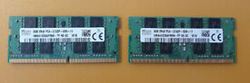 16GB (8GB x 2x) SO-DIMM 260-pin (2133 MHz)