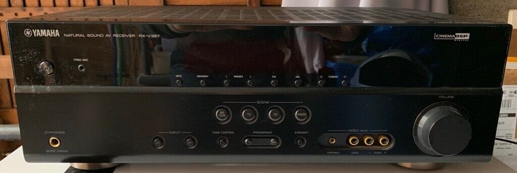 Yamaha natural sound AV receiver RXV367 with Jamo Sub 200 power and five  Jamo speakers | in Rubery, West Midlands | Gumtree