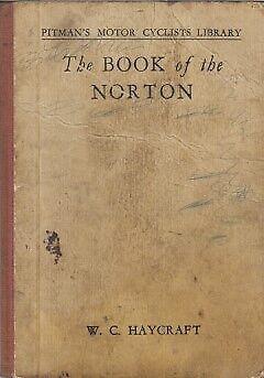 NORTON 16H BIG 4 18 19 20 ES2 CS1 & CJ (1932-48) OWNERS REPAIR MANUAL