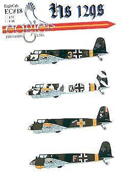 Eagle Cal 1/72 Henschel Hs129 # 72018