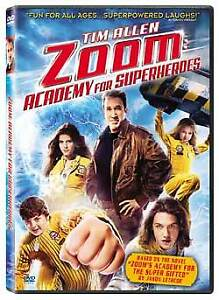 DVD-Zoom Academy for superheroes