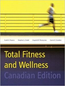 Total Fitness And Wellness, Canadian Edition Texbook