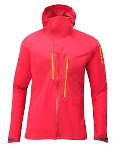 Salomon red shell jacket