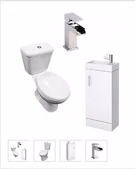 toilet and vanity unit suite from as low as £199