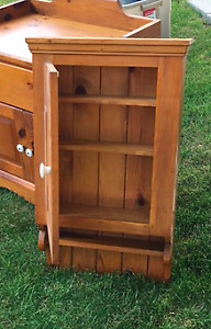 Custom made solid pine cabinet