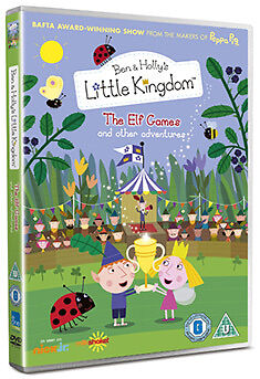 BEN AND HOLLYS LITTLE KINGDOM - VOLUME 4 - THE ELF GAMES - DVD - REGION 2 UK