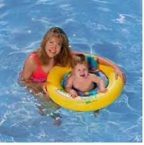 AQUA LEISURE JUST FOR BABY POOL SEAT :  6-18 months-NEW