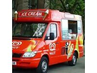Ice cream van for hire