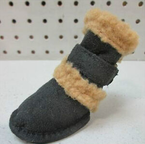 2 SETS of 4 PET LIFE - SHEARLING Dog Boots -  Medium