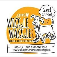 2nd Annual Walkathon to benefit Quinte Humane Society!