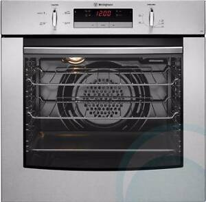 Used Gas Wall Oven Westinghouse 60 cm S/Steel Multifunctions Gas Castle Hill The Hills District Preview