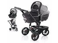 Jane Trider travel system with accessories