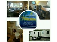8 Berth Caravan Kiln Park Tenby *School Summer holidays available for £675* with just £50 deposit