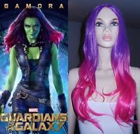 NEW Guardians of the Galaxy GAMORA Deluxe Wig (312-0886)