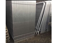 Heras Style Temporary Security Site Metal Fence Panels * New* 3.45 X 2M