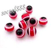 Red Cats Eye Beads
