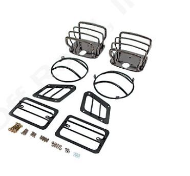 1997-2006 Jeep Wrangler & Unlimited Euro Guard Headlight, Tailight & Blinker Kit