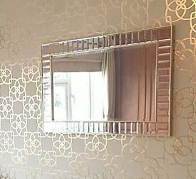 Glass and Gold mirror
