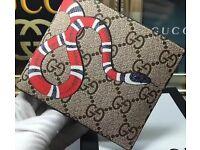 mens wallet new designer snake style