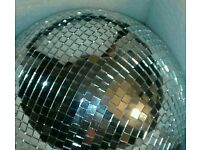 "12"" MIRROR BALL in Flightcase with Rotator"