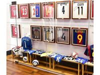Signed football collection