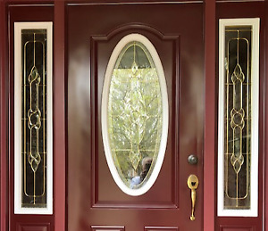 For Sale: Double Glass Insulated Front Door Inserts