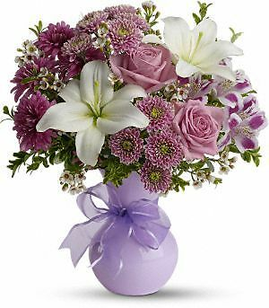 Telefloras Precious In Purple Tfweb602   Fresh Flower Delivery