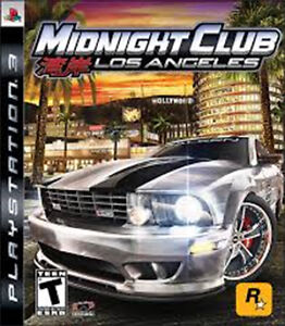 PS3 - MIDNIGHT CLUB - Los Angeles - Play Station 3 game for sale