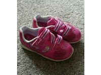 Girls toddler shoes, trainers and sandals