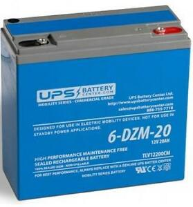 6-DZM-20 12V 20Ah Sealed Lead Acid Rechargeable Battery
