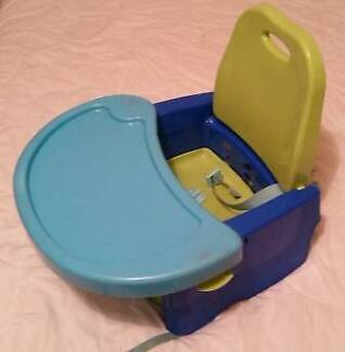 Seat Mounted High Chair/ Booster with table