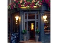 Full and Part-Time Bar Staff Required for Central London Pub