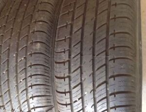 205/55-16 UNIROYAL A/S tires $120. Pair