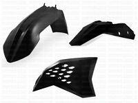 Acerbis Plastic Kit KTM EXC 125 250 400 450 530 08-11 SX SXF 07-10 BK Plastics