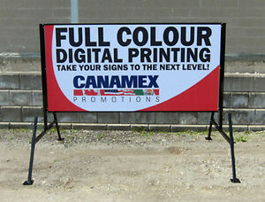 Free standing portable signs !