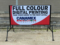 NON- FADING COLOURED LETTERS Mobile Signs..
