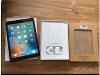 New unsealed apple iPad Pro 9.7in 128gb space grey wifi and cellular